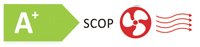 classe efficienza energetica A+ SCOP