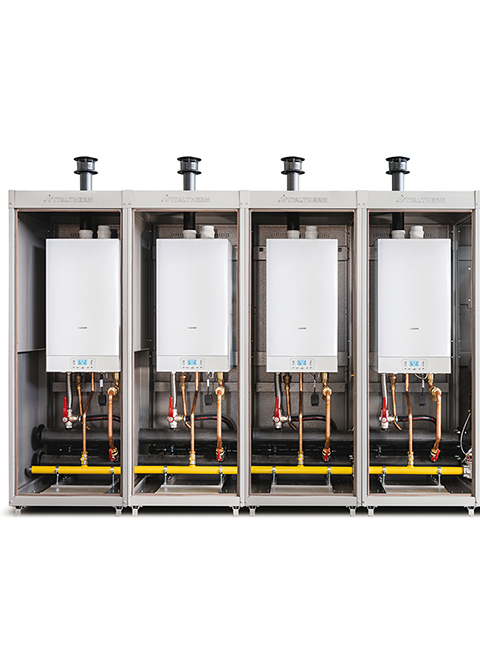 wall hung high power boilers/time power