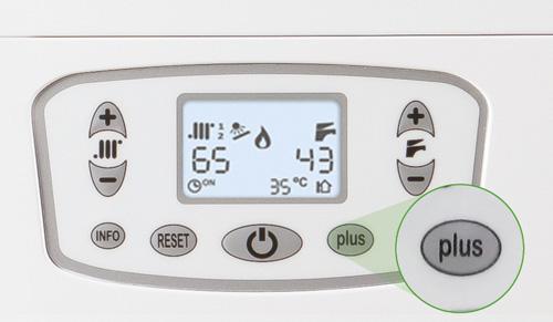 Funzione Plus per pre-riscaldo accumulo integrato